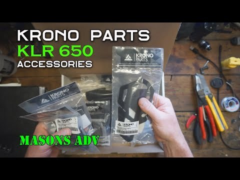 KRONO Parts Kawasaki KLR 650 Accessories | Masons ADV |