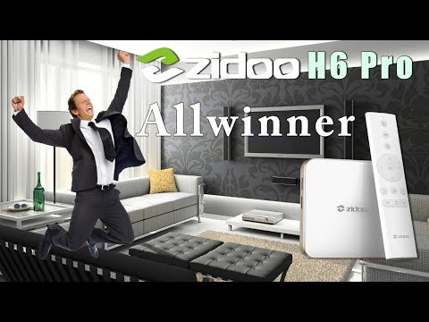 Zidoo H6 Pro Allwinner Quad Core  Android 7.0 4K TV Box - Surprising Results YouTube in 4K