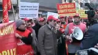 Gemlik Nemtrans İşçilerinin İstanbul Yürüyüşü ( DDSB )