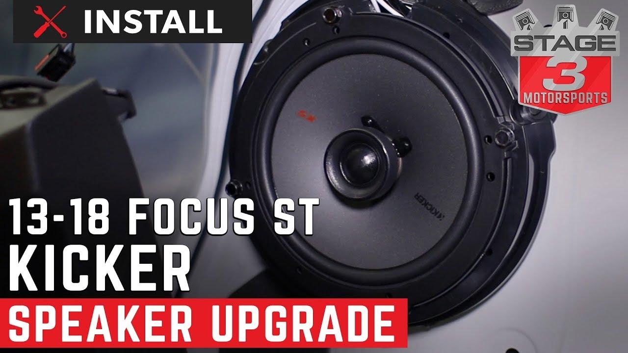 Focus St Speaker Install : 2013 2018 focus st complete kicker ks series speaker upgrade install youtube ~ Vivirlamusica.com Haus und Dekorationen
