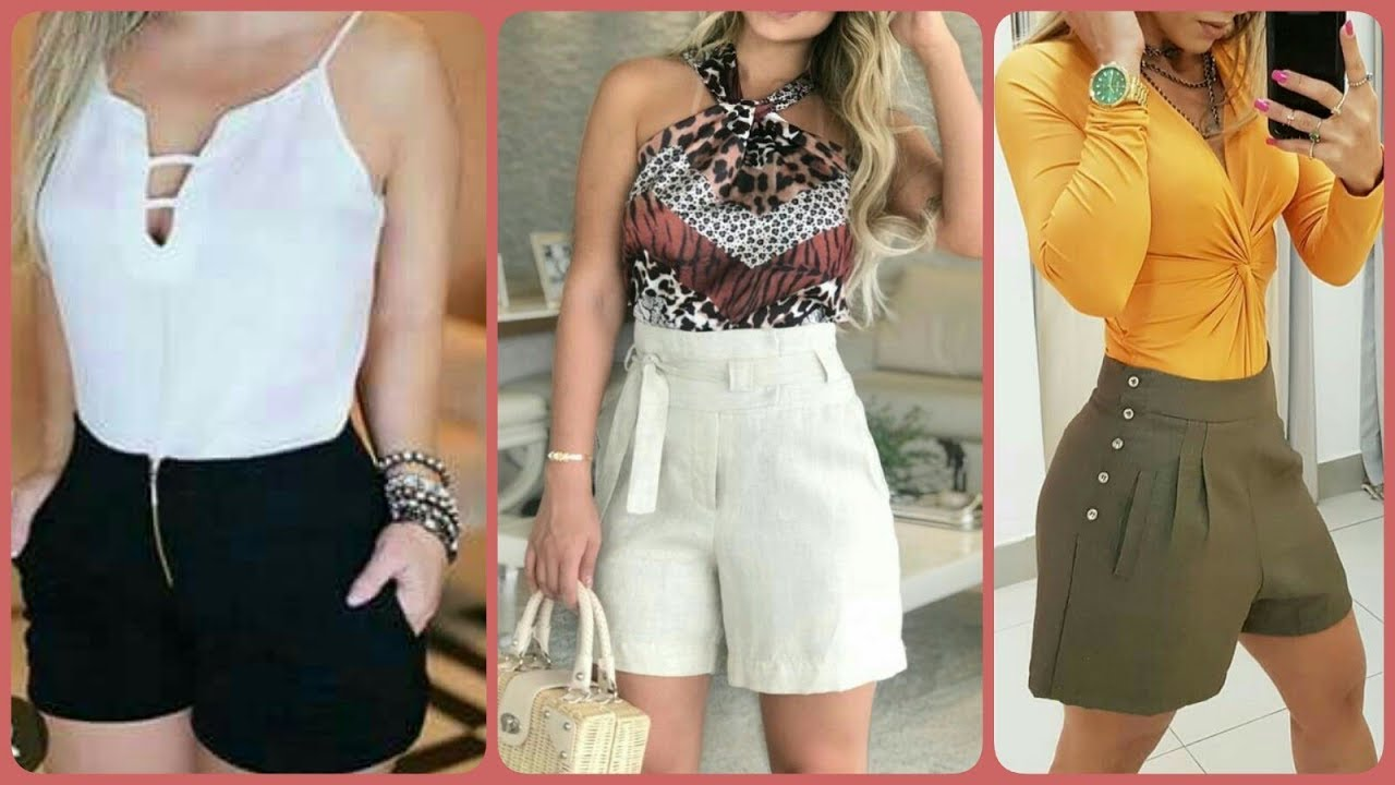 [VIDEO] - Latest Summer Shorts & Tops Outfit Ideas Lookbook 2019 | Summer 2019 Lookbook 2