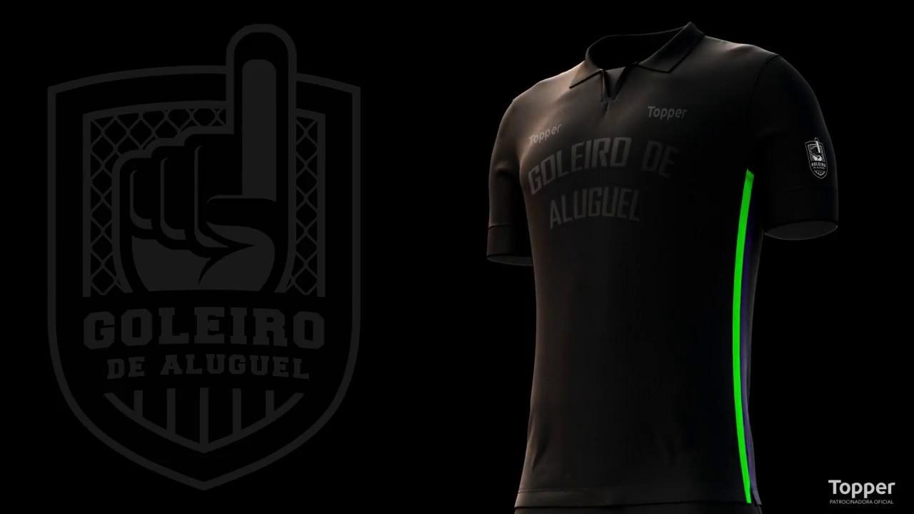3536a00ba607b Camisa Goleiro de Aluguel Edição Especial Copa 2018 - YouTube