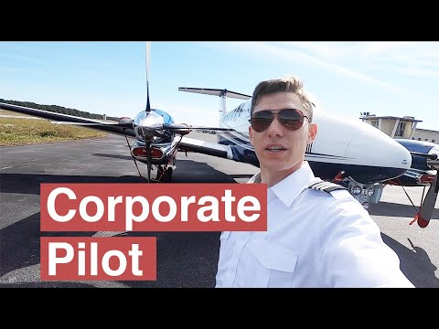 A Day As a Corporate Pilot
