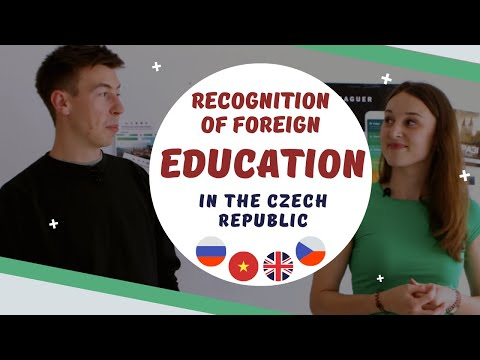 RECOGNITION OF EDUCATION in the Czech Republic - English, Russian and Vietnamese subtitles!