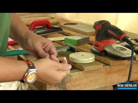 Κατασκευή Σουβέρ (βάση) / DIY Making coasters (base)