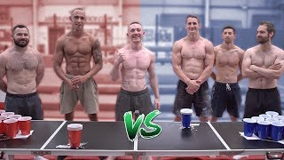Gymnasts Vs Coaches.. 'GYM PONG'