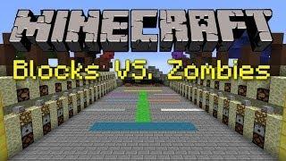 BLOCKS VS. ZOMB ES   Minecraft Minigames EP 7 Svenska