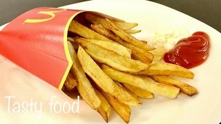 Картошка Фри КРУЧЕ чем в Макдональдсе! Жареная Картошка!