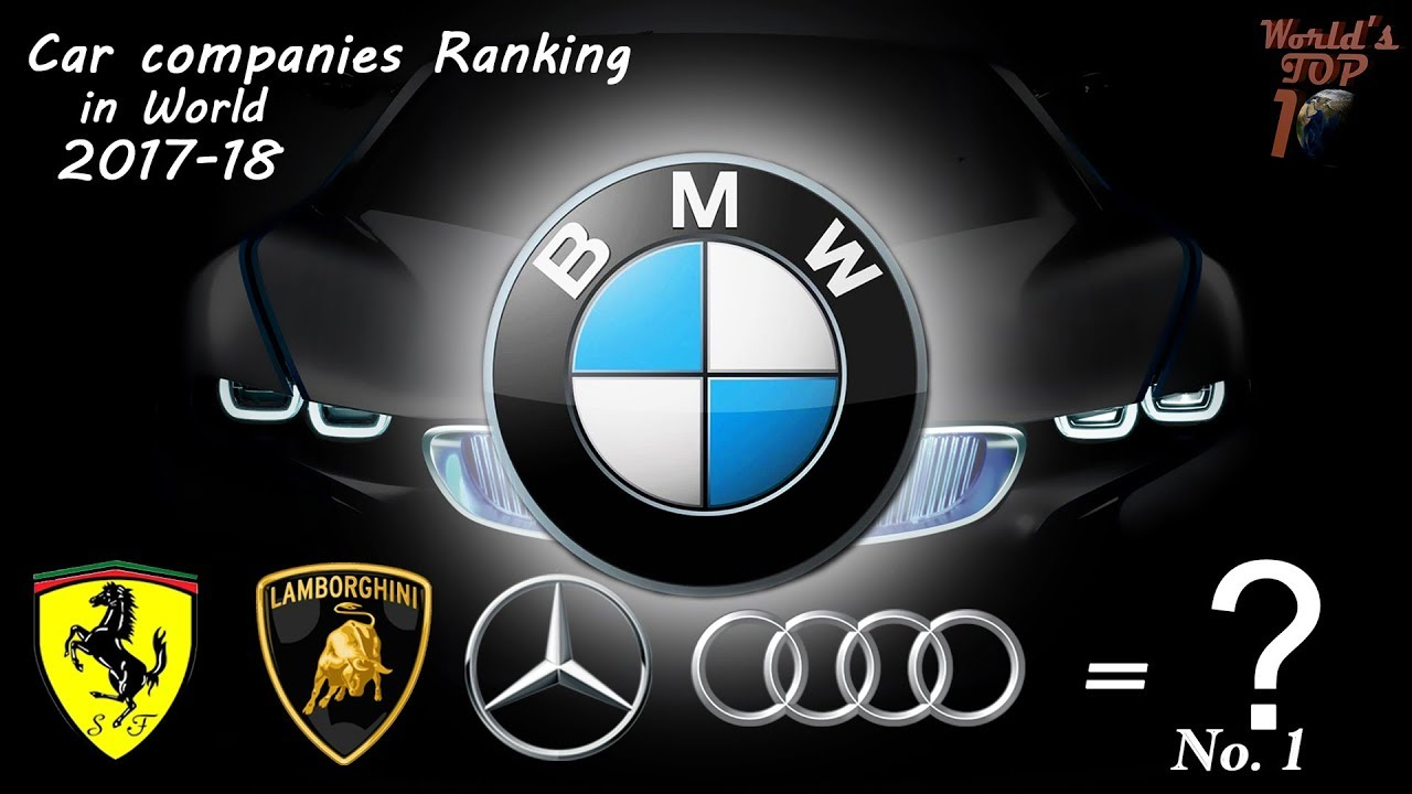 Car Companies Ranking 2017 2018 Who Change This World World S Top
