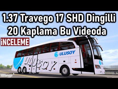 ETS 2 - 1.37 | TRAVEGO 15-17 SHD SPECİAL EDİTİON OTOBÜS MODU - 20 FİRMA KAPLAMASI İLE TANITIM !!!!!