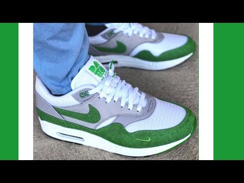 On Feet Patta Air Max 1 Chlorophyll History & Review