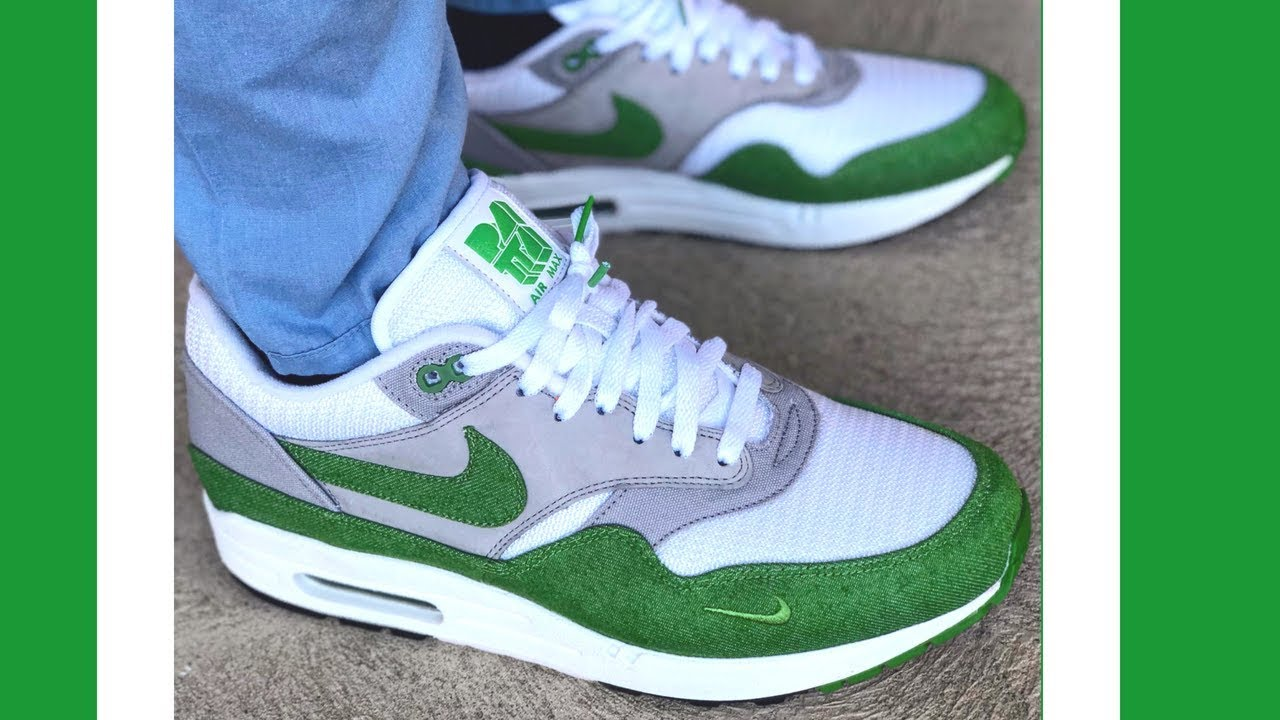 On Feet Patta Air Max 1 Chlorophyll History & Review Hypebeast History