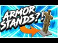HOW TO MAKE ARMOR STAND IN MCPE (Minecraft PE)