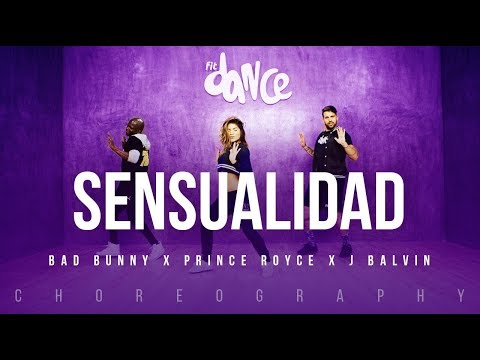 Sensualidad - Bad Bunny X Prince Royce X J Balvin | FitDance Life (Coreografía) Dance Video