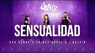 Sensualidad Bad Bunny X Prince Royce X J Balvin FitDance Life Coreograf a Dance.mp3