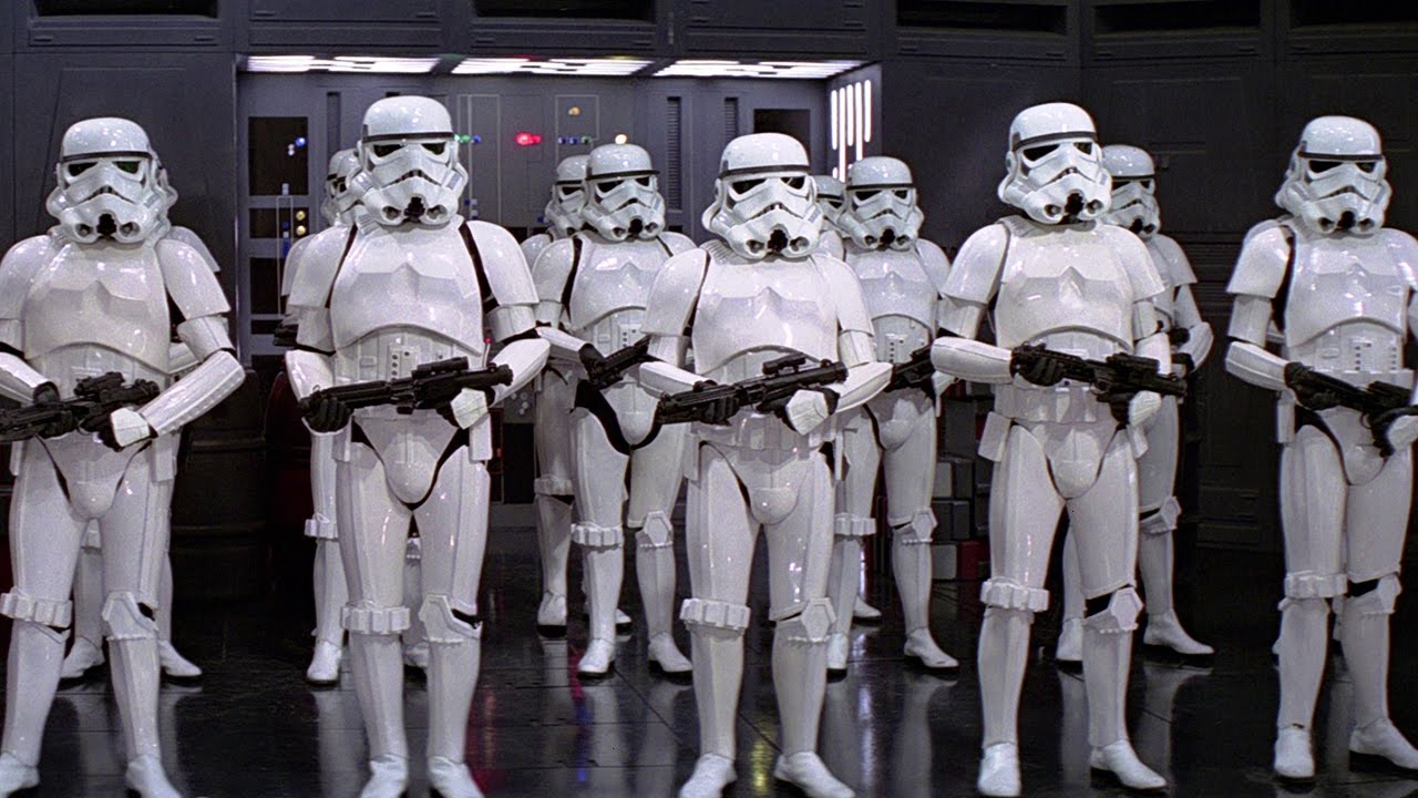 Stormtrooper Accuracy Star Wars A New Hope Youtube
