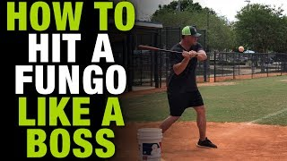 How To Hit A Fungo Like A Boss!  Baseball Coaching Tips  [How To Tuesday Ep.8]