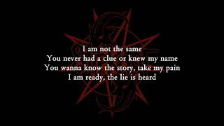Slipknot - Orphan [Lyrics Video]
