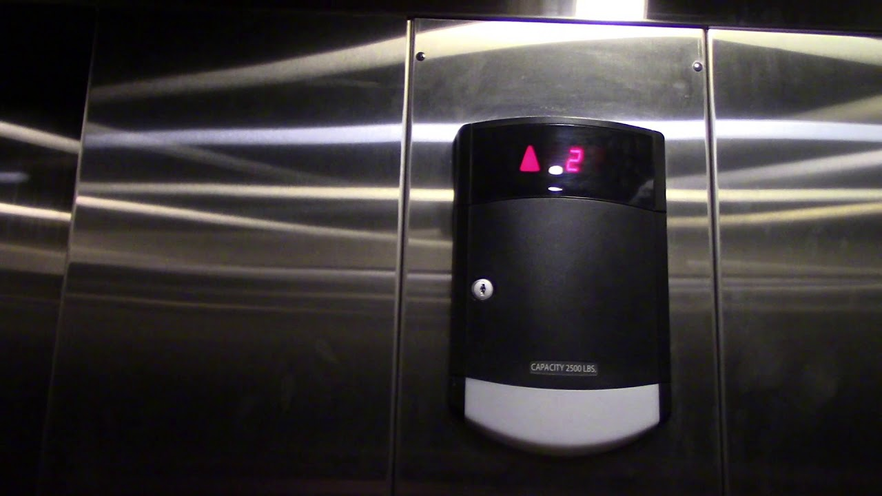 Schindler Ht 330a Hydraulic Elevator At Urban Outfitters Westfield Garden State Plaza Paramus