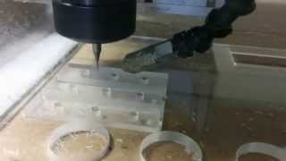 Acryl milling 2mm 1 lip tool