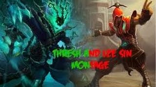 Montage Lol - Best Lee Sin & Thresh Plays 2015 HD