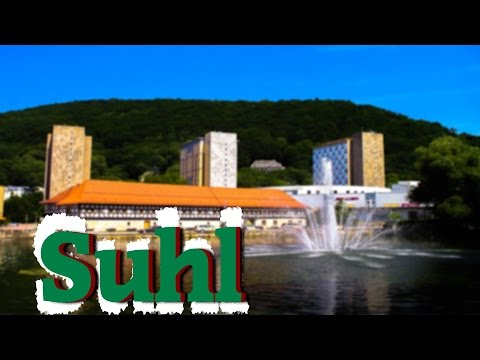 Suhl - A city in the thuringian forest