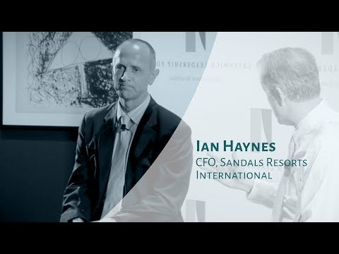 Part of a Larger Tapestry | Ian Haynes, CFO Sandals Resorts International