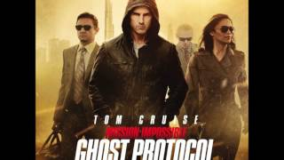 The opening title music from the Mission Impossible: Ghost Protocol...