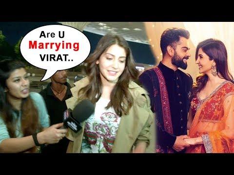 Anushka Sharma Leaves To MARRY Virat Kohli In Italy With Family
