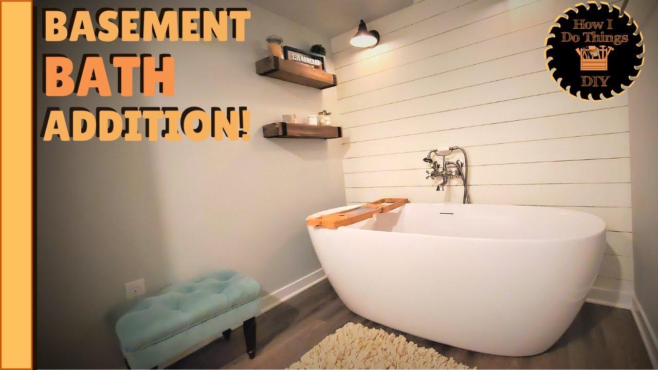 How To Build A Luxury Basement Bathroom, Diy Basement Bathroom