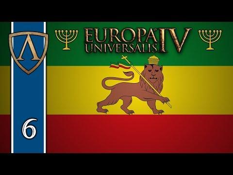 Let's Play Europa Universalis IV -- Jewish Ethiopia -- Part 6