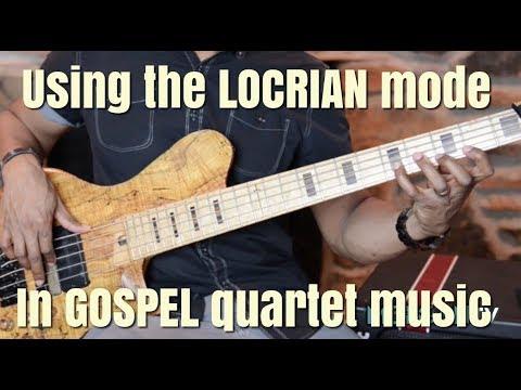Using the LOCRIAN mode in GOSPEL QUARTET - JERMAINE MORGAN  TV