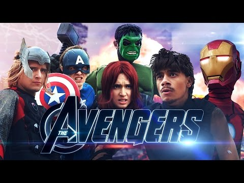 AVENGERS Version Youtubeurs (Mister V, Natoo, Squeezie, Norman, Hugo, Cyprien)