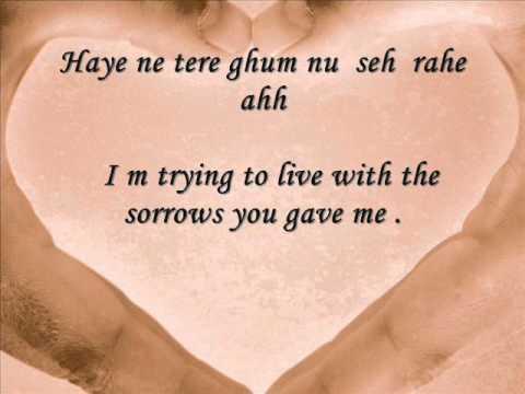 Kaleya Reh gaye ahh ( ALONE ) wid Lyrics & english Translation