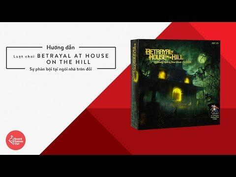 Board Games Việt - Hướng Dẫn Chơi Betrayal At House On The Hill