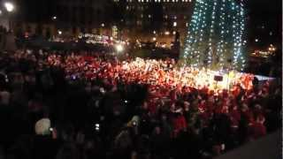 Trafalgar Square Christmas Carols 1 - Santa Claus