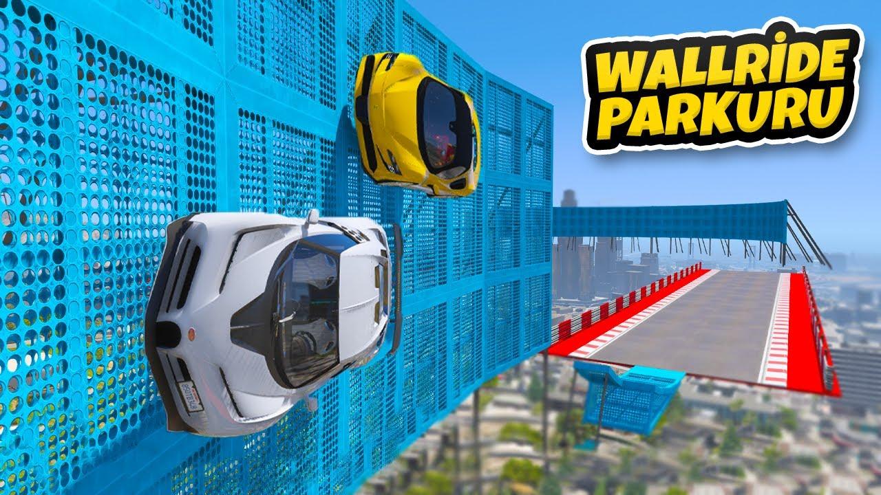 Dünyanın En Pahalı Arabaları WallRide Parkurunda - GTA 5