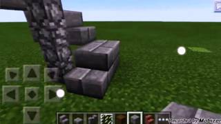 TUTORIAL:SCALA A CHIOCCIOLA | MINECRAFT PE