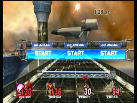 Super Smash Bros Brawl - custom music 3 [Saber's edge]