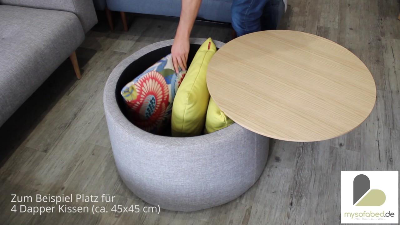 Storage Von Innovation Couchtisch Mit Stauraum Mysofabed De Youtube