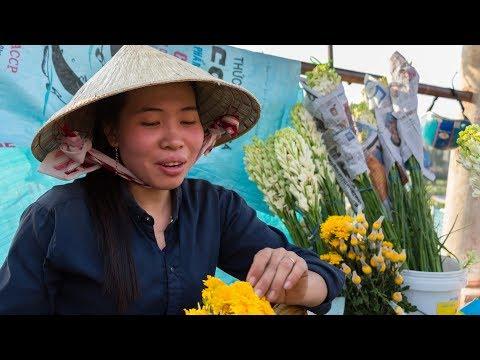 Chợ Cái Khế Tết 2018 (Cần Thơ)    Cai Khe Market in the Lunar New Year    Vietnam Discovery Travel