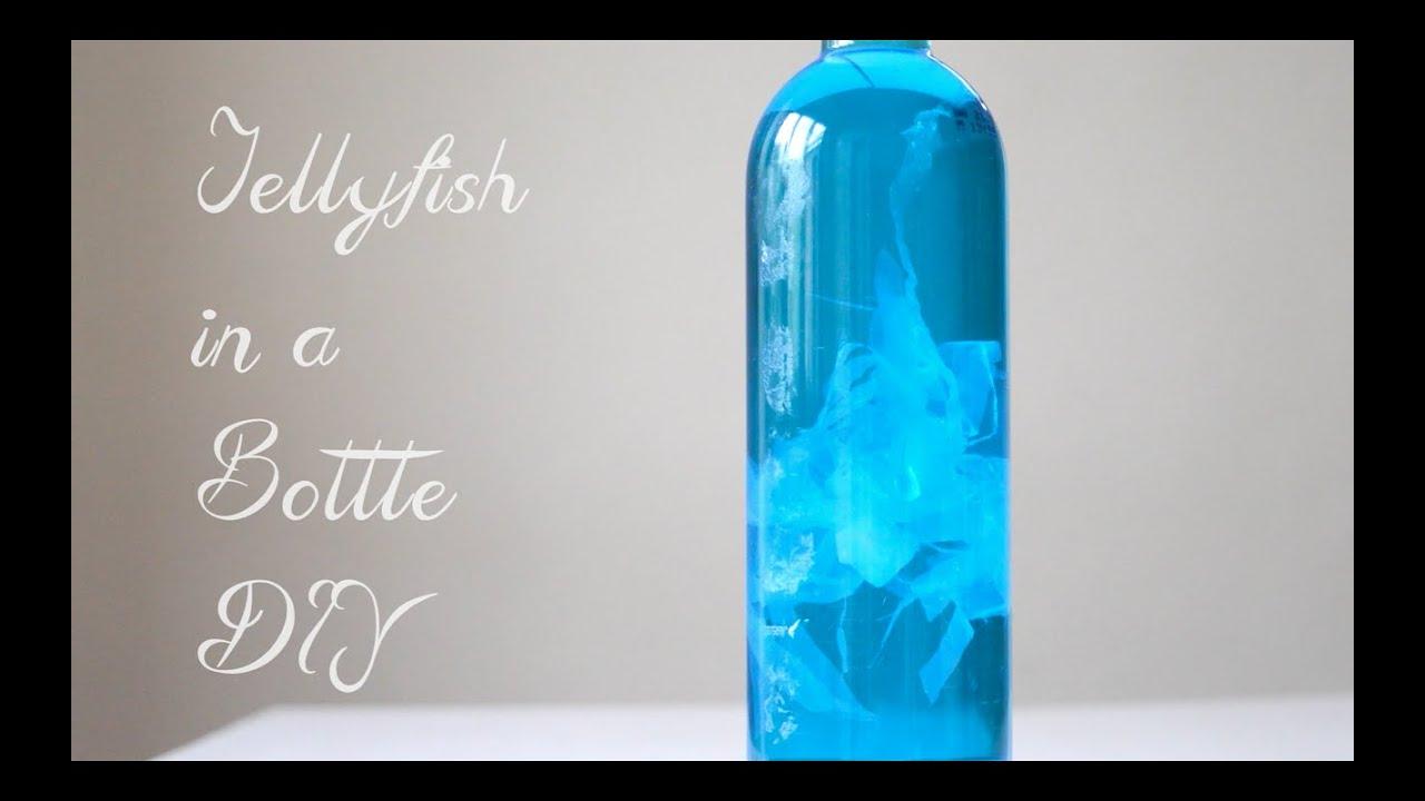 Jellyfish In A Bottle Pinterest Diy Youtube