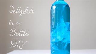 Jellyfish in a Bottle Pinterest DIY