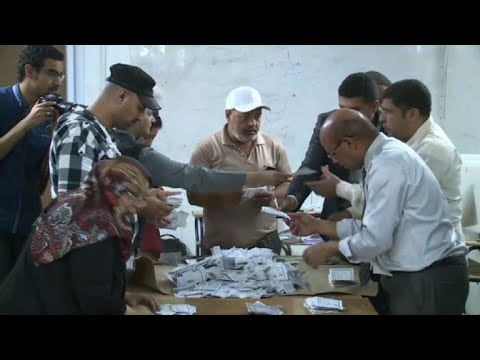 Egypt election: poll stations close, vote counting begins
