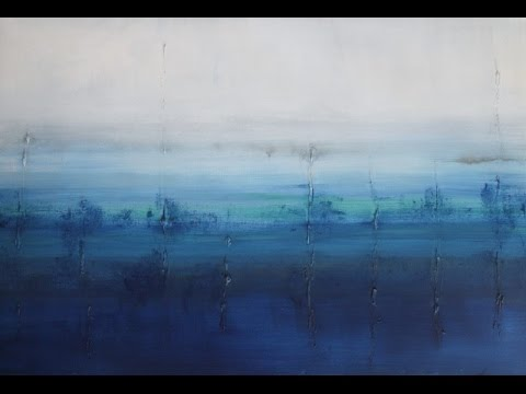 Modern Landscape & Abstract Art Paintings - Contemporary Gallery Tour