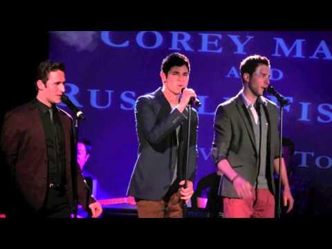"""Jason Gotay, Russell Fischer & Corey Mach -- """"Love on Top"""" at Broadway Sings Beyoncé"""
