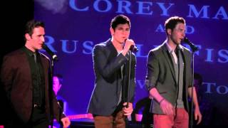 "Jason Gotay, Russell Fischer & Corey Mach -- ""Love on Top"" at Broadway Sings Beyoncé"
