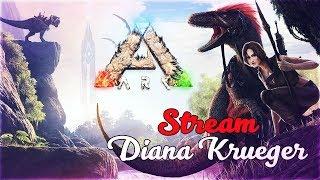 ARK: Survival Evolved - СТРИМ С ДЕВУШКОЙ
