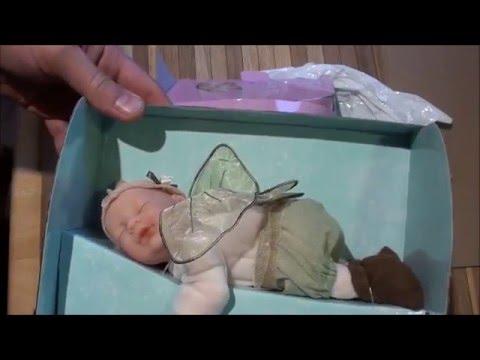 Распаковка.Кукла сонная фея Anne Geddes.