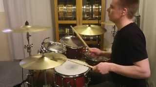 Steely Dan - Kid Charlemagne (Drum cover) by Kai Jokiaho